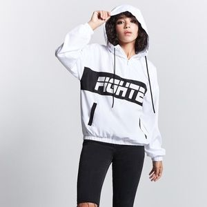 Forever21 size 2x fighter windbreaker (new)